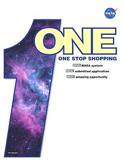 NASA's One Stop Shopping Initiative Logo